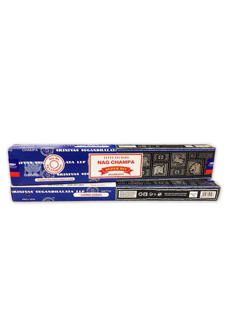 Incienso Satya Dual  Nag champa & Super Hit 16 gr