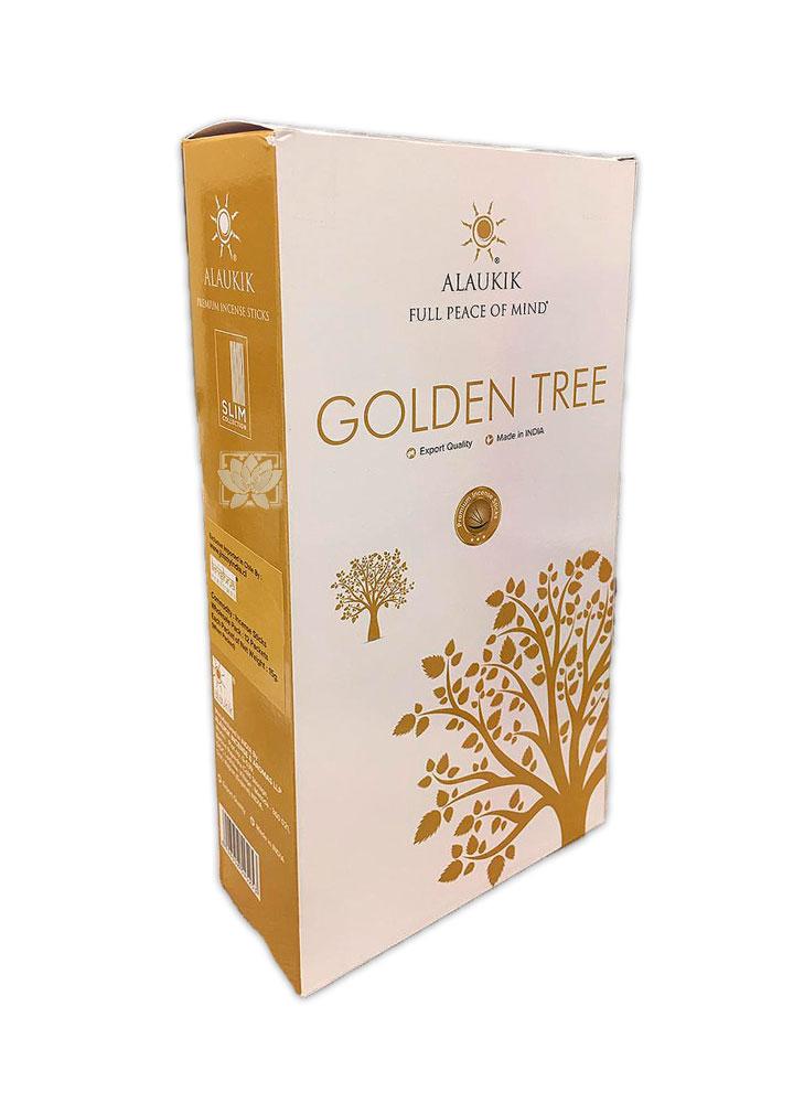 Incienso Alaukik  Slim 15Gr Golden Tree