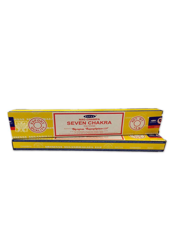 Incienso Satya  7 Chakras 15 gr