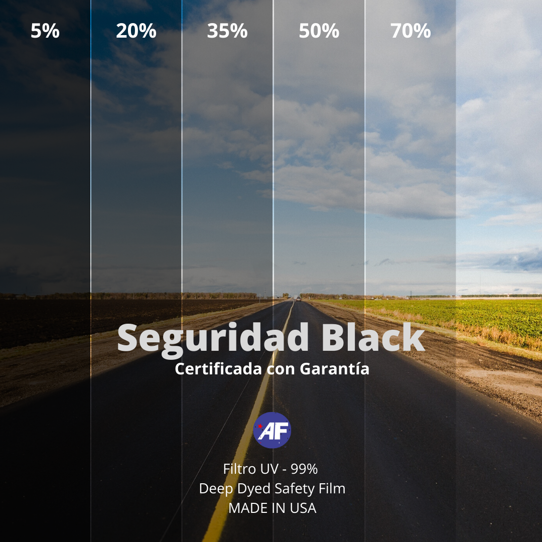 SEGURIDAD COLOR BLACK
