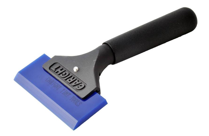 MANGO ALUMINIO LARGO CON SQUEEGEE BLUE