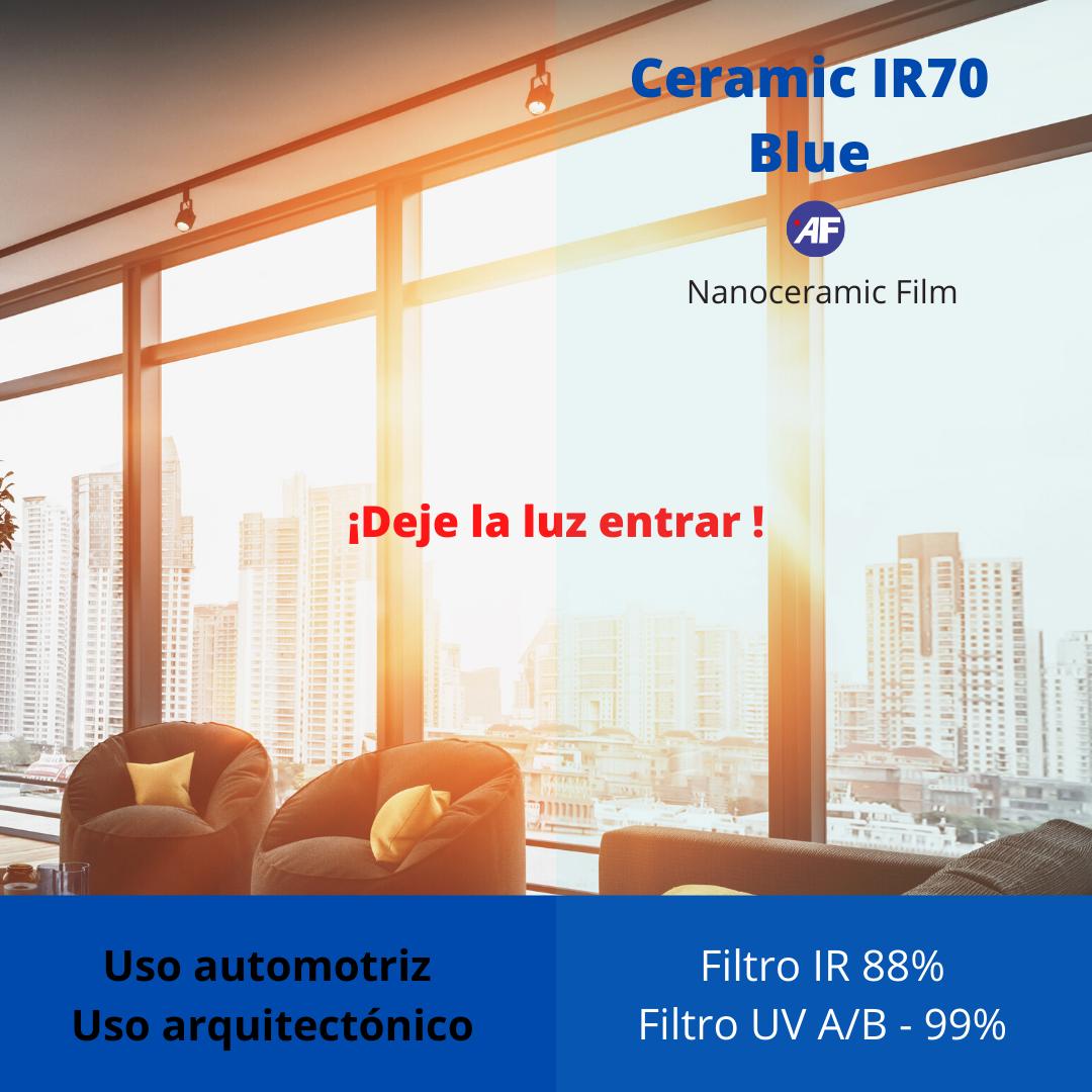 POLARIZADO CERAMIC 70 ULTRA IR BLUE