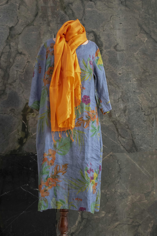 Pañuelo seda natural de Vietnam