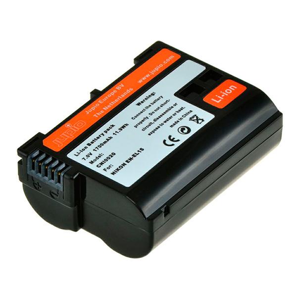 Batería Reemplazo Jupio para Nikon EN-EL15