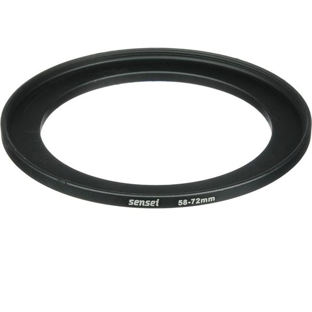 Anillo Adaptador Sensei Step Up Ring de 58 a 72mm