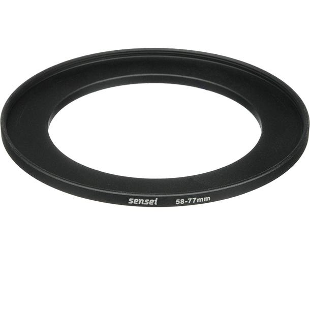 Anillo Adaptador Sensei Step Up Ring de 58 a 77mm