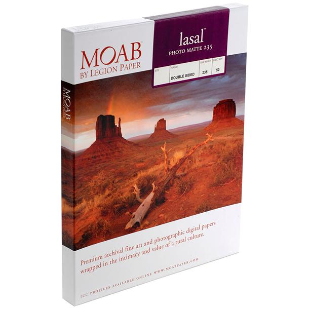 Papel Fine Art Moab Lasal Photo Matte 235 A4 (8.25 x 11.75) 50 Hojas