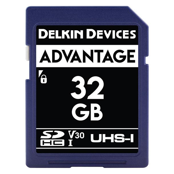 Tarjeta Memoria Delkin Devices 32GB SDHC Advantage 660x UHS-I