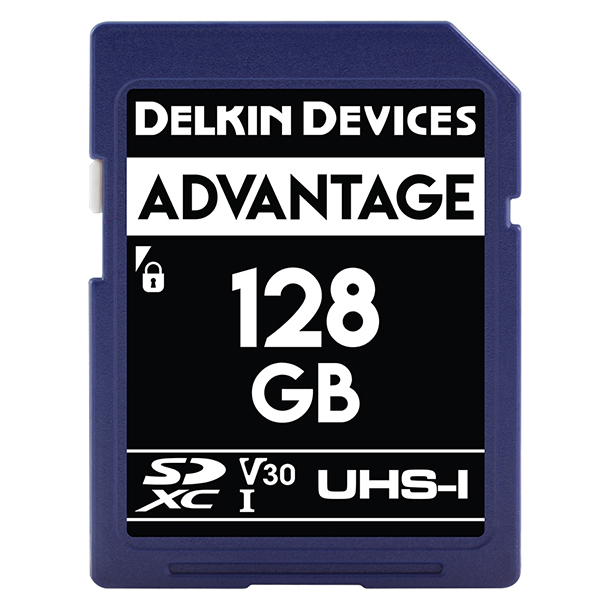 Tarjeta Memoria Delkin Devices 128GB SDHC Advantage 660x UHS-I