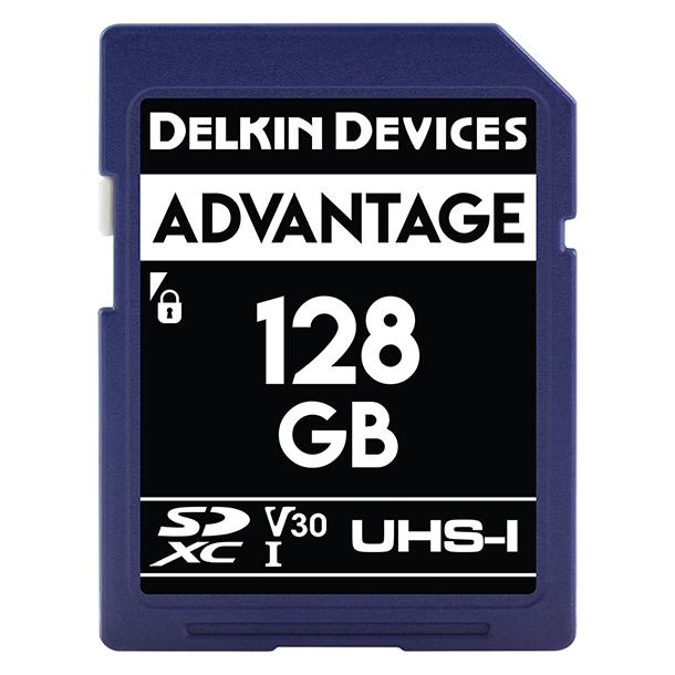 Tarjeta Memoria Delkin Devices 128GB SDHC Advantage 660x UHS-I