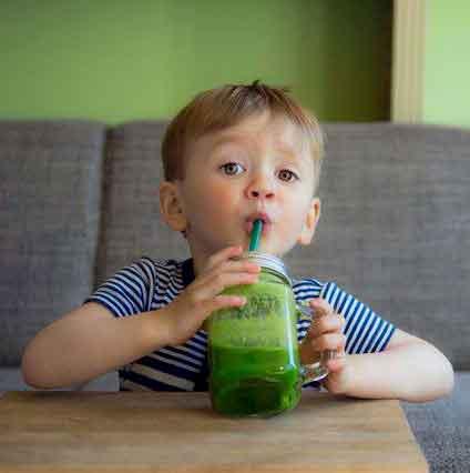 El consumo de Spirulina en niños