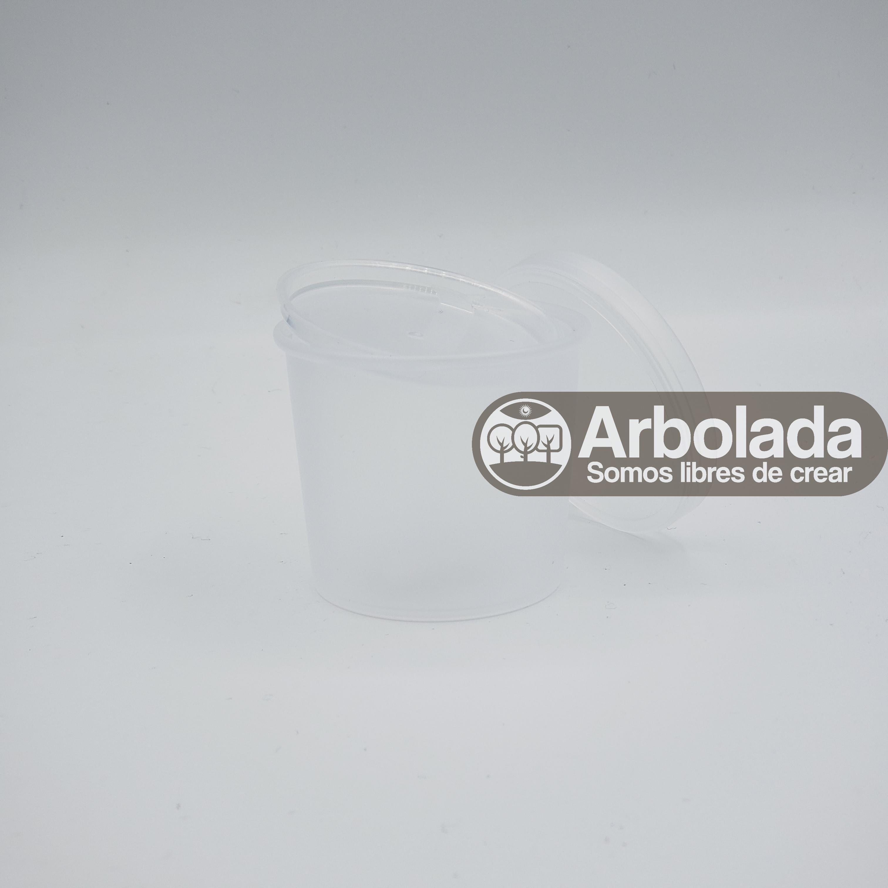 Envase Lush 60ml Transparente