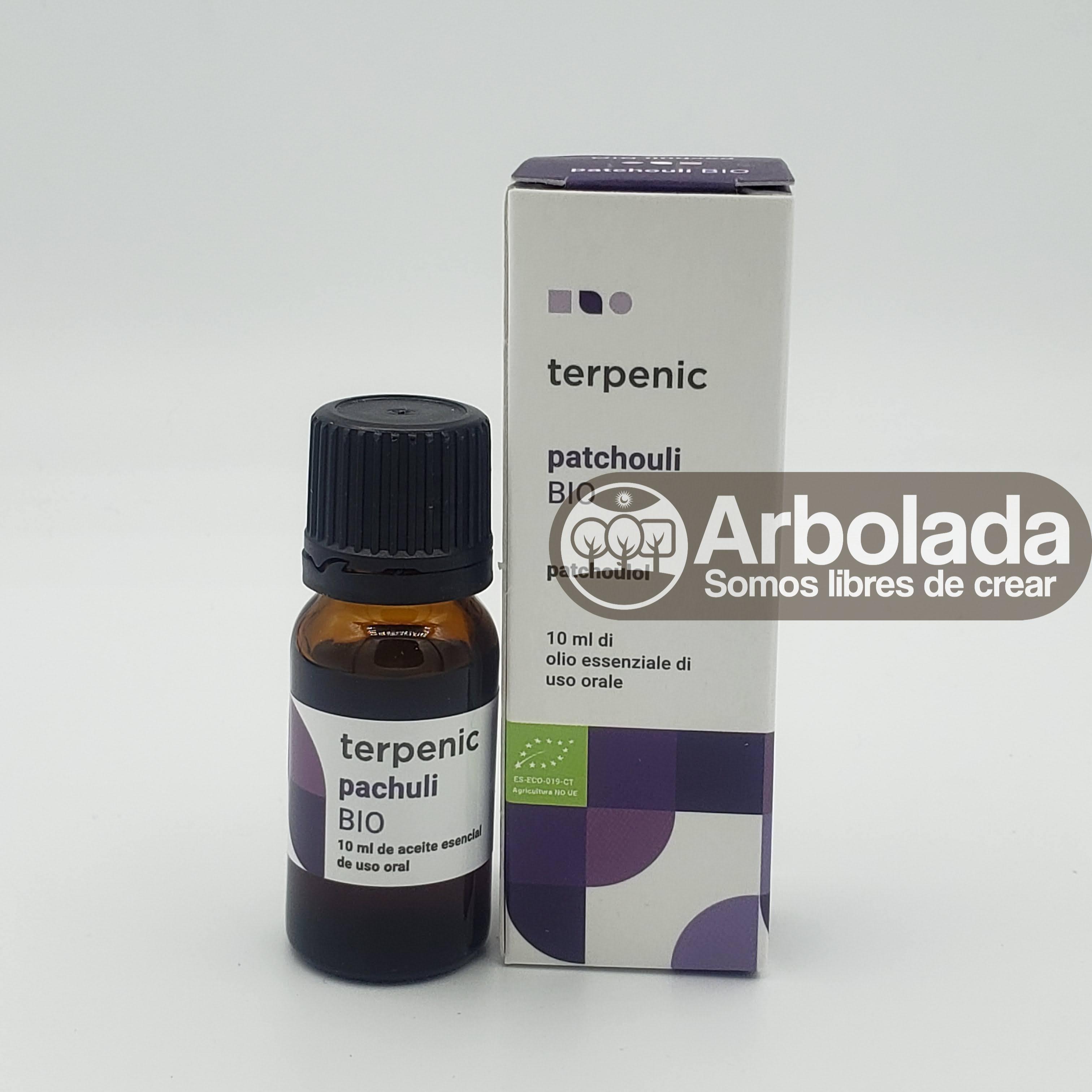 Aceite esencial patchouli BIO 10ml