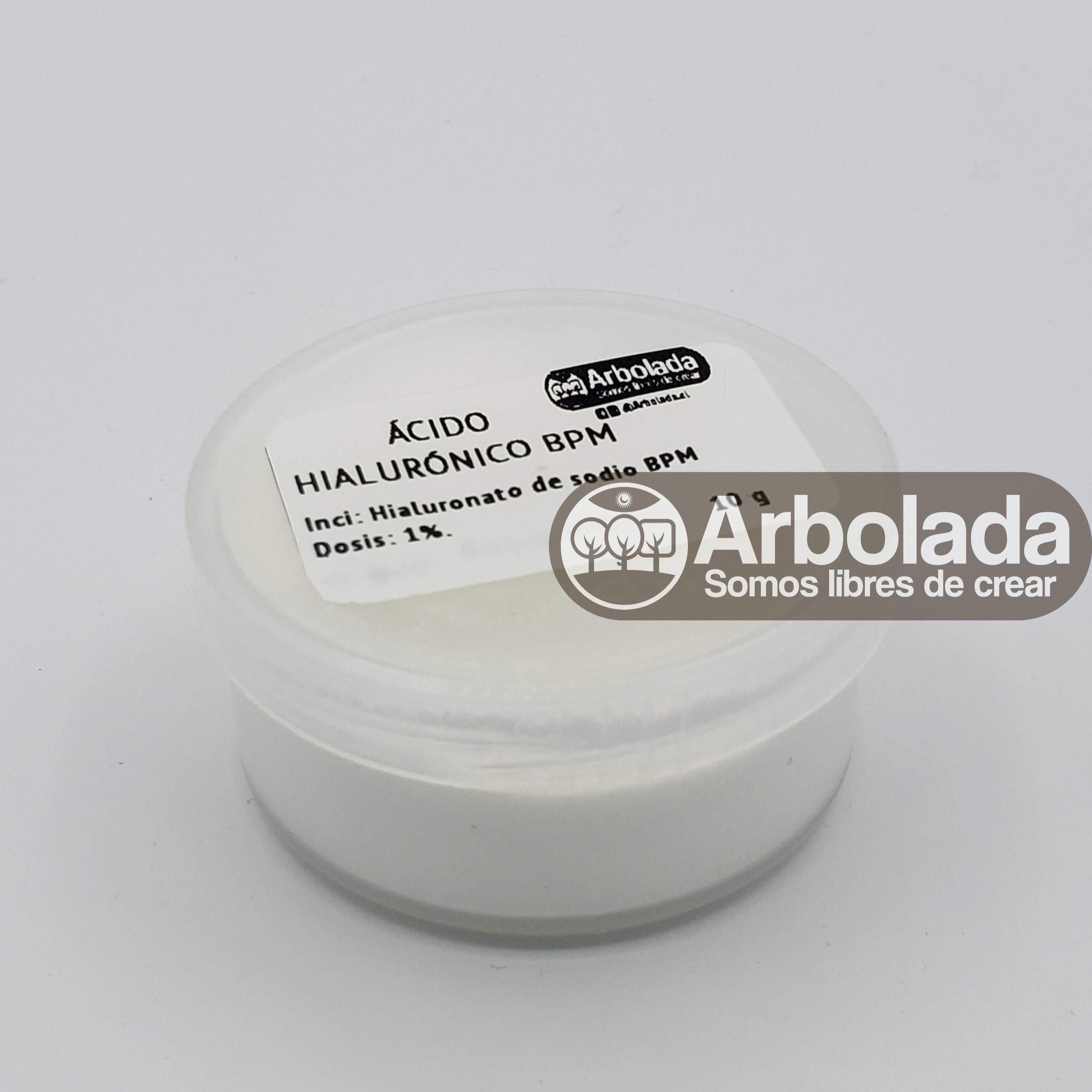 Ácido Hialurónico BPM en Polvo