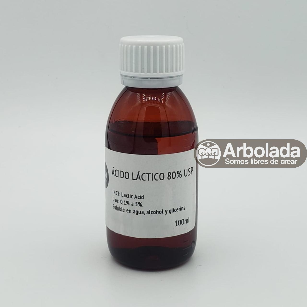 Ácido Láctico 80% 100ml