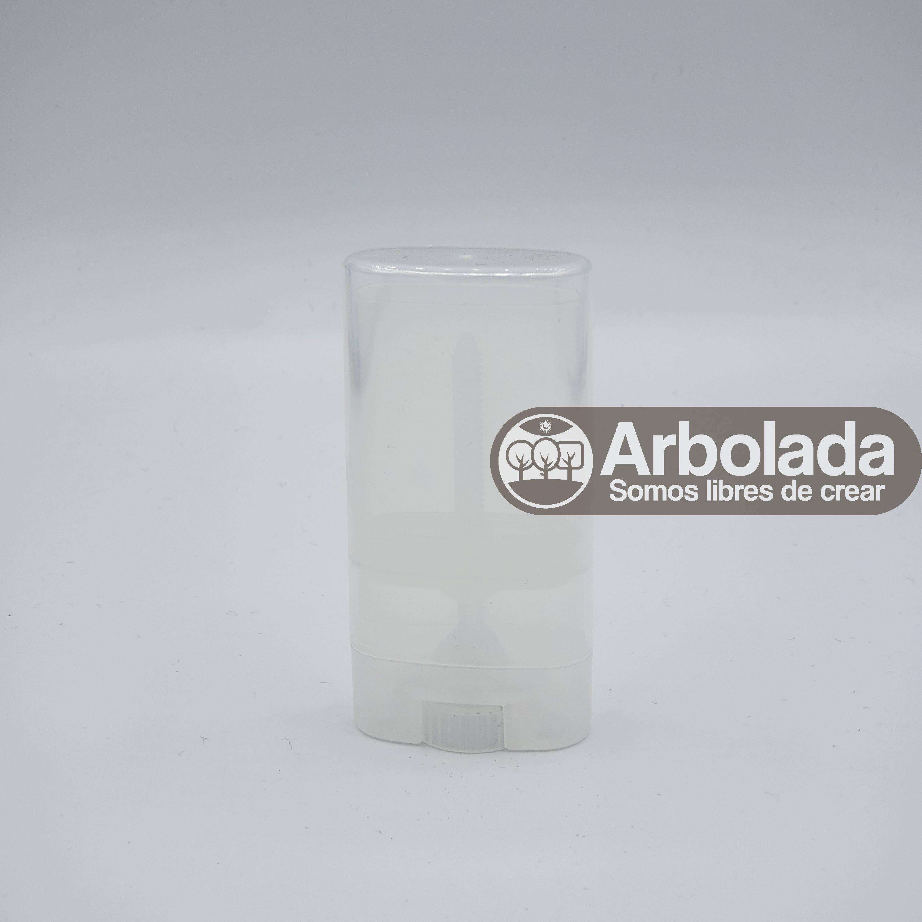 Envase de desodorante en barra 15ml