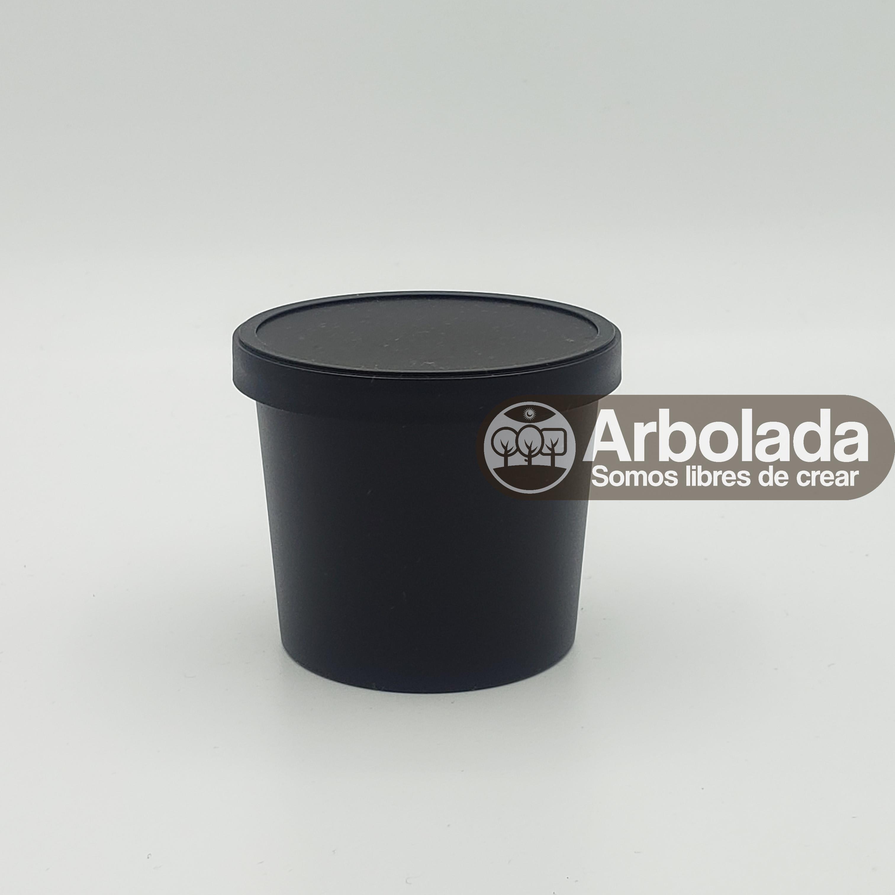 Envase Lush 100ml negro
