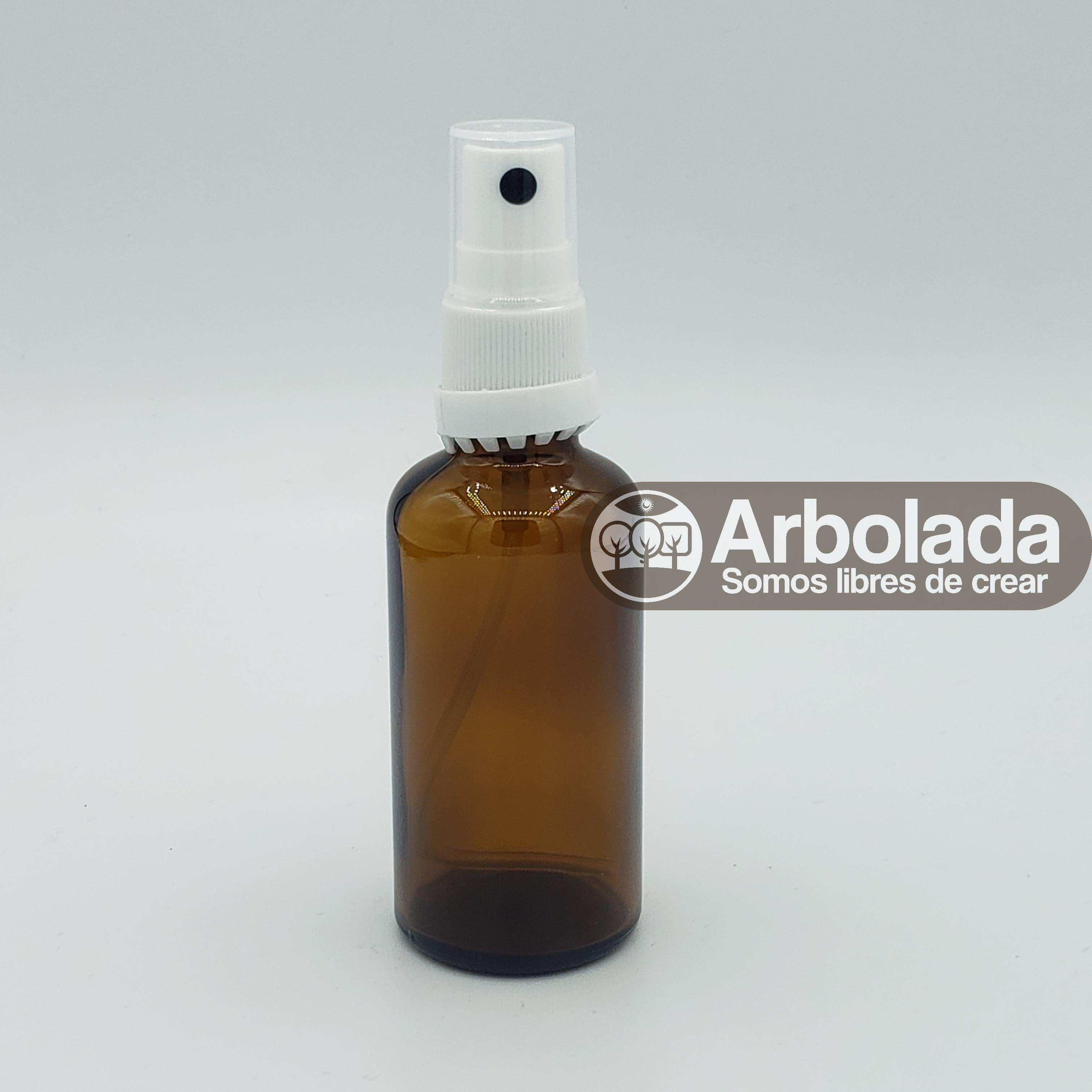 Botella Vidrio 100ml Ambar Spray