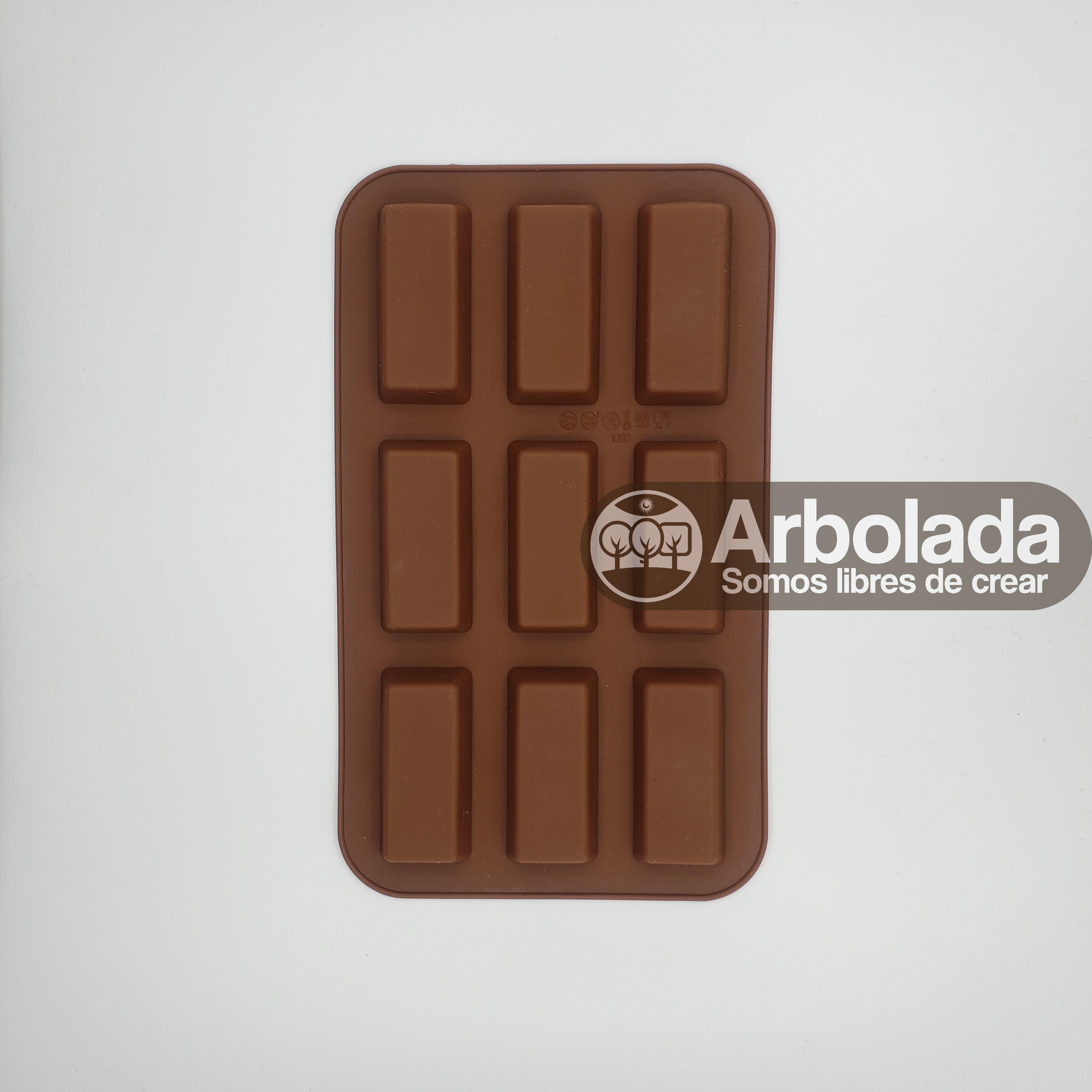Molde Barra Chocolate