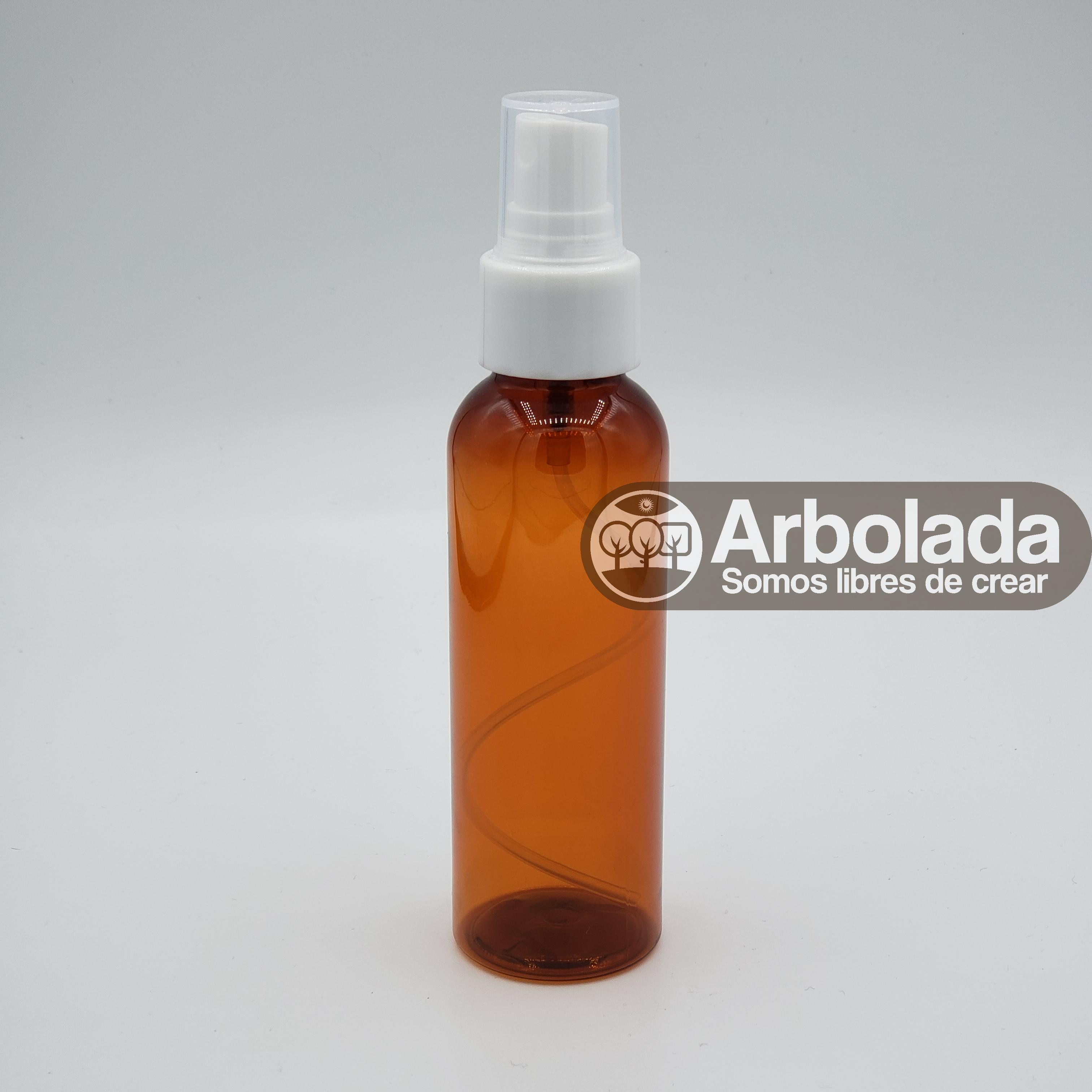 Botella PET 100ml Ámbar Spray