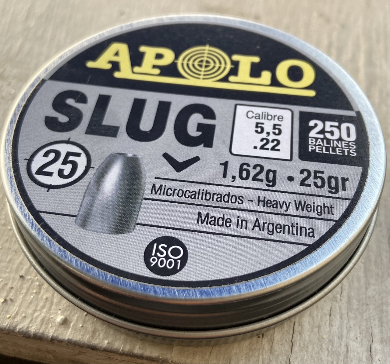 Postones apolo slug cal 5,5 25grains