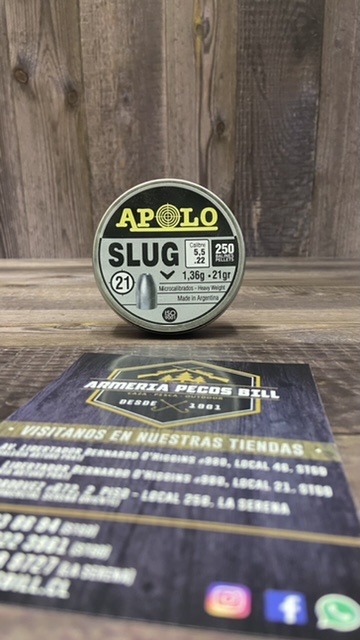 Poston Apolo Slug cal 5,5 - 21 grains