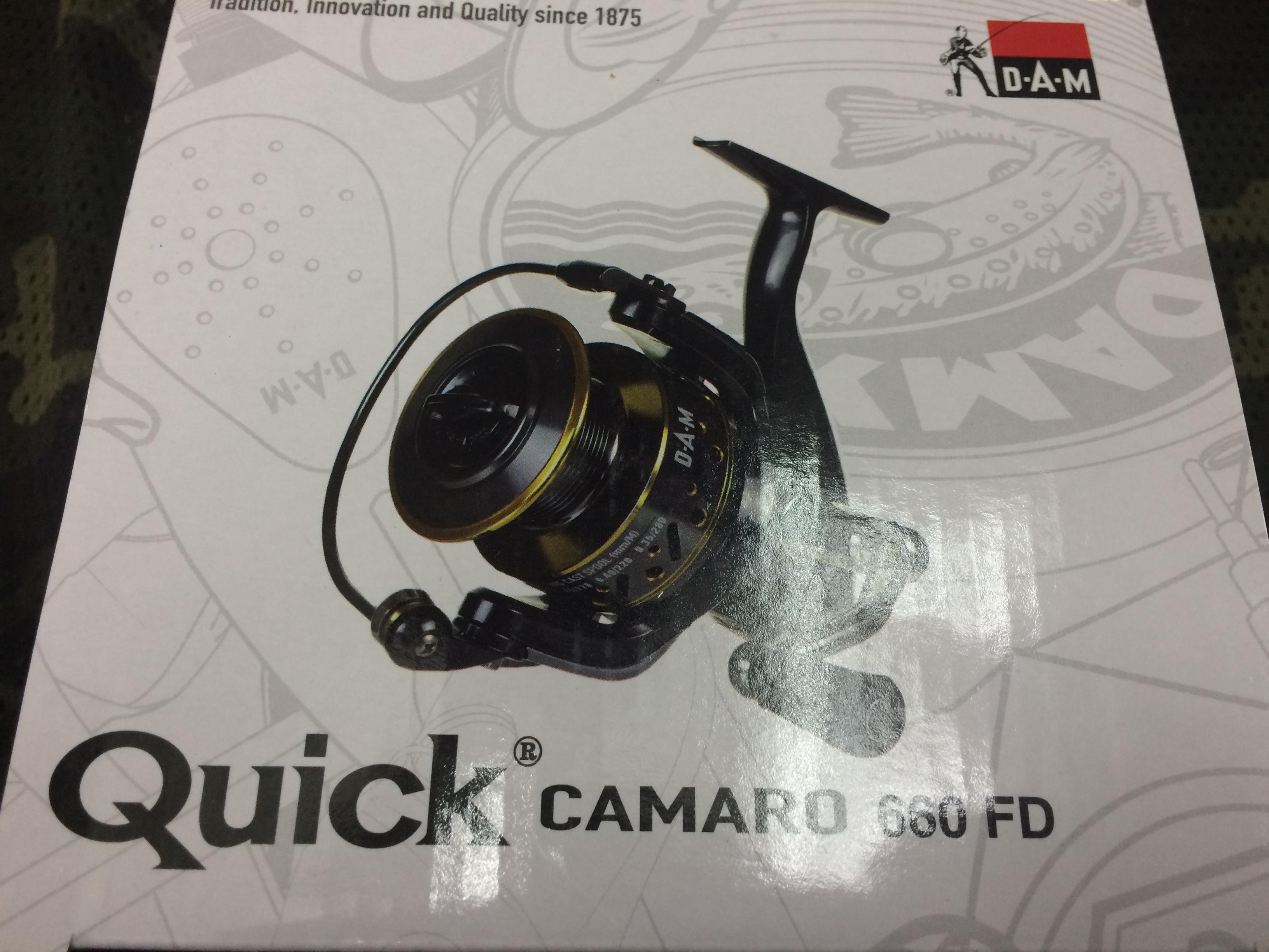 carrete dam quick camaro 660FD