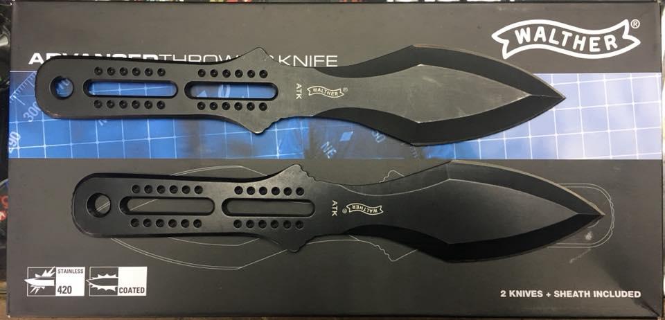 Cuchillos de Lanzamiento Walther