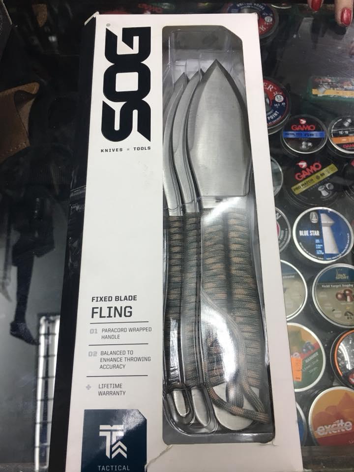 Cuchillo de Lanzamiento SOG