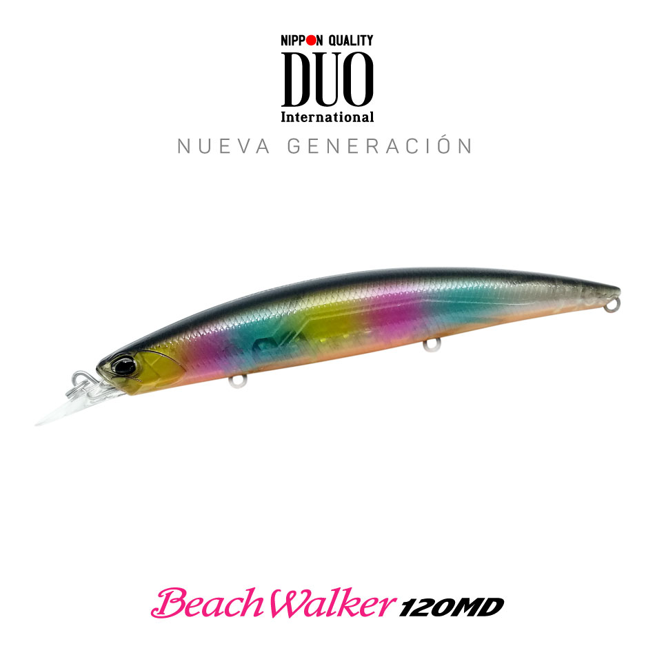señuelo DUO beach walker 120MD Black Candy