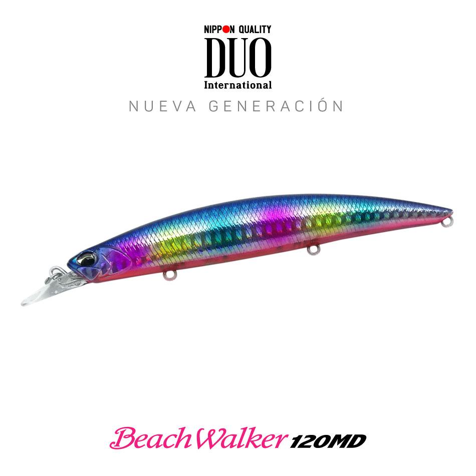 Señuelo DUO beach walker 120MD blue Black candy