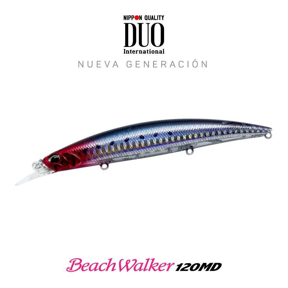 Señuelo DUO beach walker 120MD Chigomori Red Head