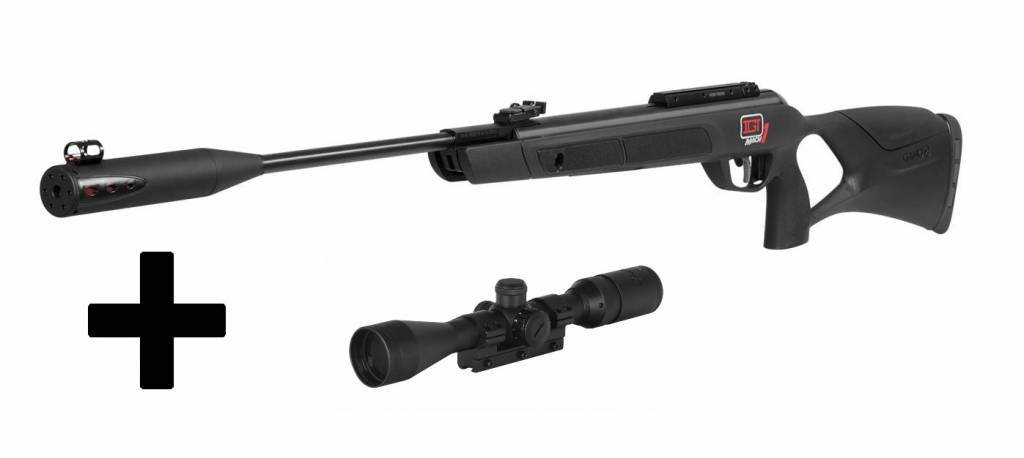 Rifle gamo g-1250 whisper mach 1 +mira 3-9x40