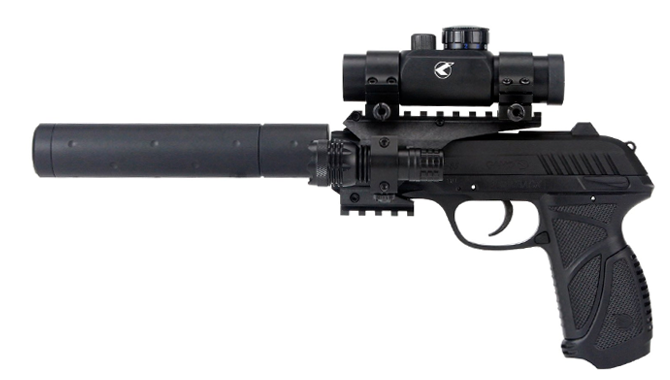 Pistola Gamo PT-85 Tactica