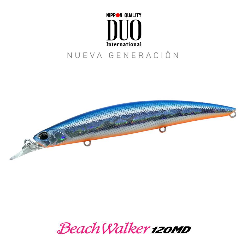 Señuelo DUO BeachWalker 120MD Pro Blue Prism 20g