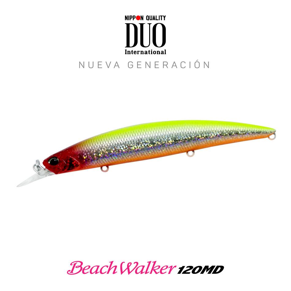 Señuelo DUO BeachWalker 120MD Sparkling Clown 20g