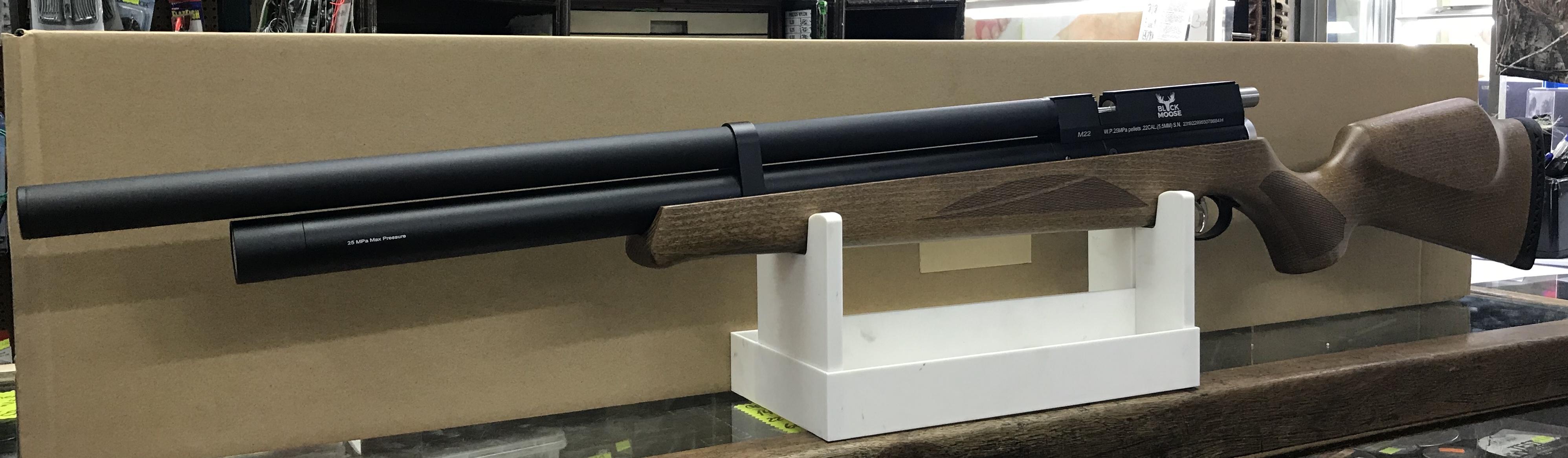 Rifle PCP Artemis o Black mosse M22 cal. 5,5