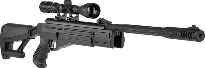 Rifle hatsan airtac +mira 3-9x40 + 250 postones