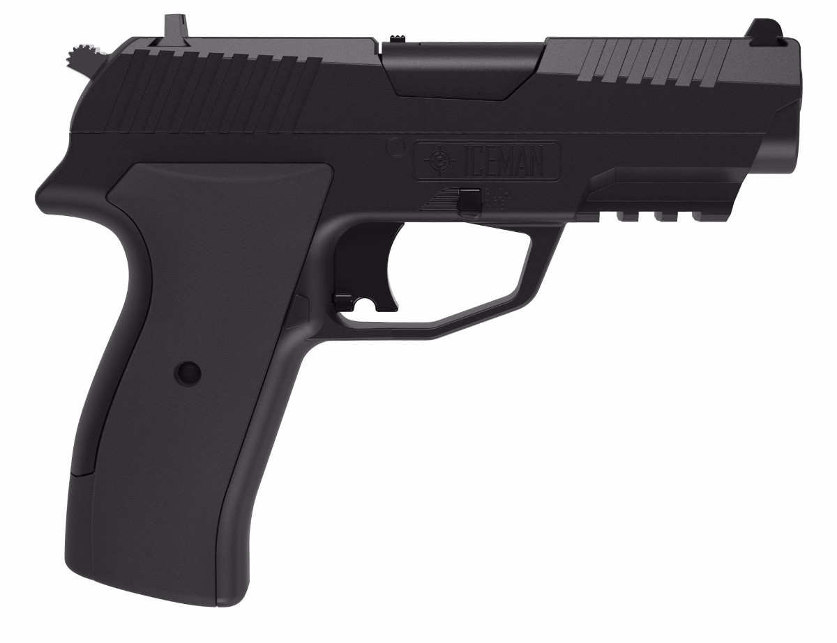 Pistola co2 Crosman iceman cal.4.5