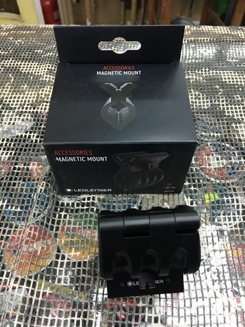 montura magnetica Led Lenser