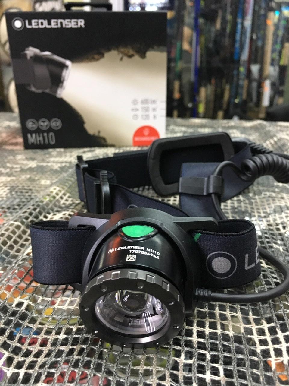 Linterna Frontal Led Lenser MH10