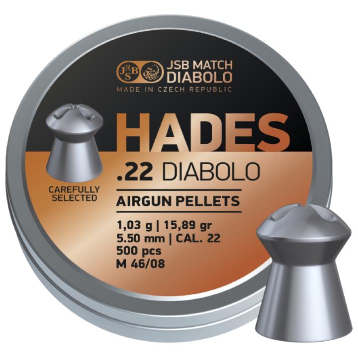 Poston JSB Hades cal. 5.5 Diabolo 500 unidades.