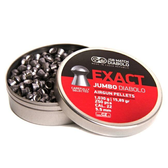 Poston JSB Exact Jumbo cal 5.5 - 15.89gr 250 unid