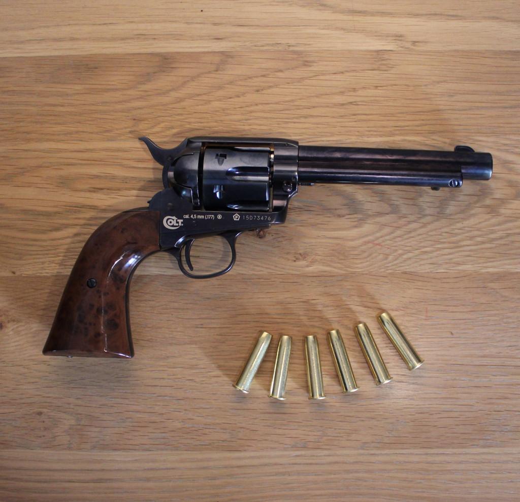 Revolver Umarex Colt SAA Blue cal. 4.5