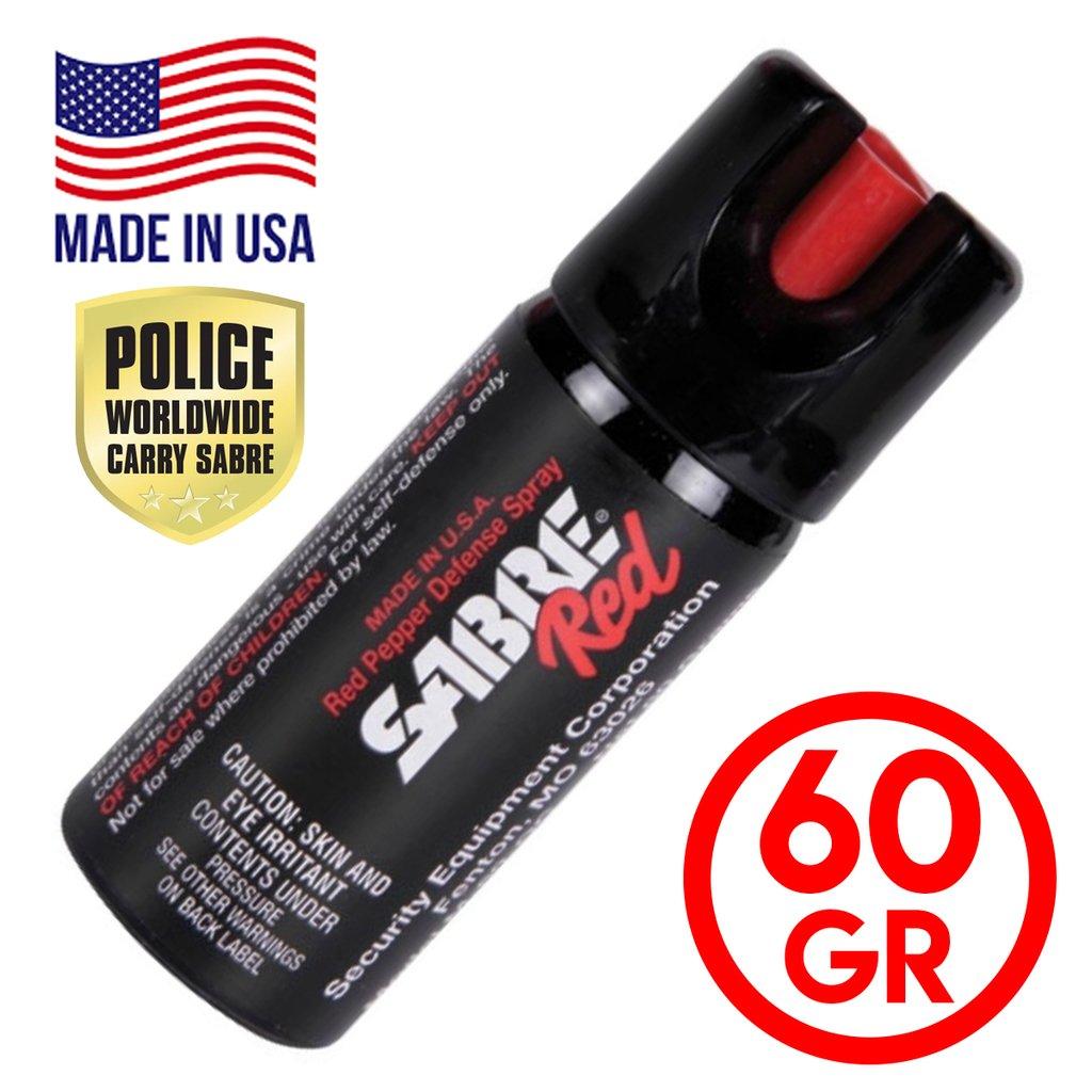 Gas Pimienta Sabre Red Spray 60gr