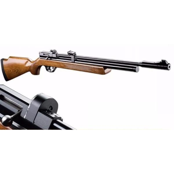 Rifle PCP PR900R cal. 5,5 + Bombín + mira 3-9x40AO+Funda+Postones