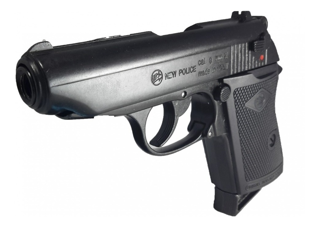 Pistola Bruni New police Cal. 9 mm fogueo
