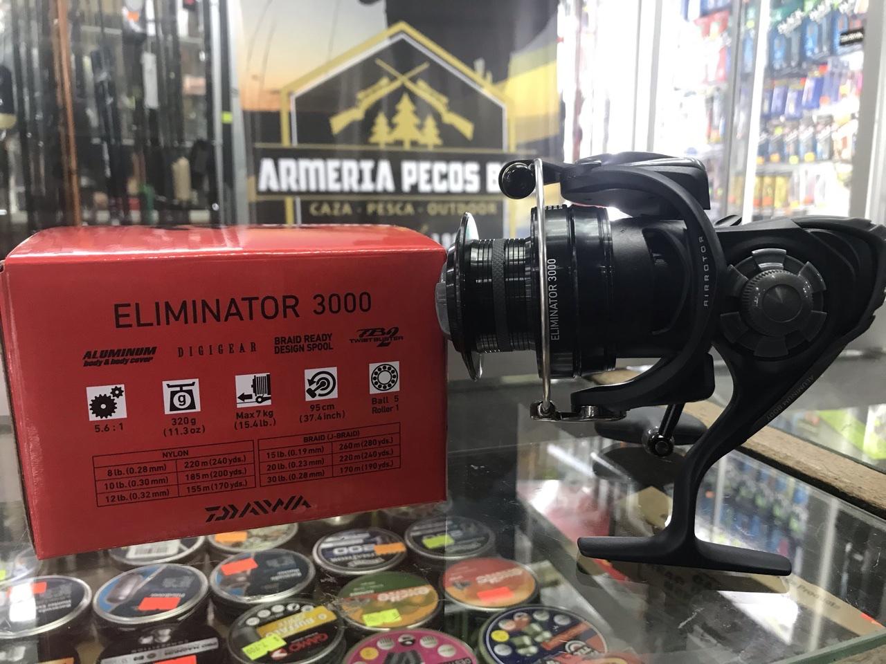 Carrete Daiwa Eliminator 3000