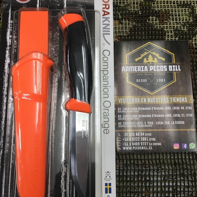 Cuchillo MoraKniv Companion Orange