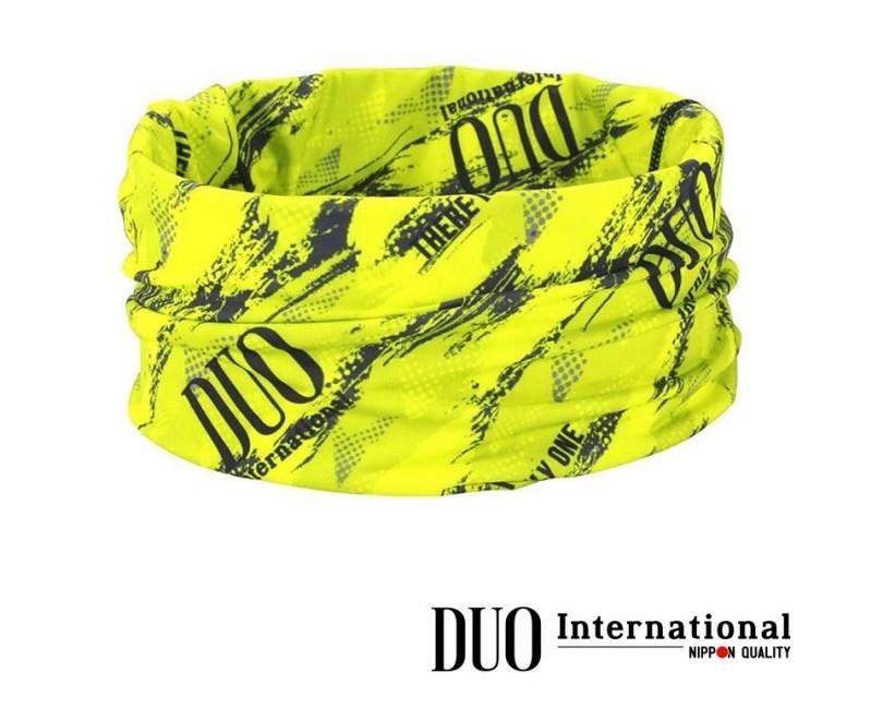 DUO UV HEADWEAR : Chartreuse Geo